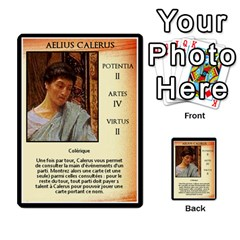 Cursus Senateurs By Meta   Multi Purpose Cards (rectangle)   Wy9w95396uxu   Www Artscow Com Front 7