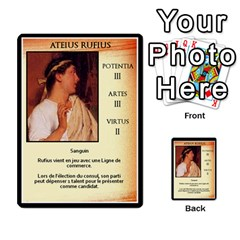 Cursus Senateurs By Meta   Multi Purpose Cards (rectangle)   Wy9w95396uxu   Www Artscow Com Front 10