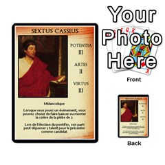 Cursus Senateurs By Meta   Multi Purpose Cards (rectangle)   Wy9w95396uxu   Www Artscow Com Front 12