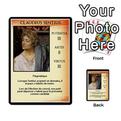 Cursus Senateurs By Meta   Multi Purpose Cards (rectangle)   Wy9w95396uxu   Www Artscow Com Front 20
