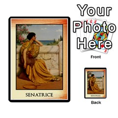 Cursus Senateurs By Meta   Multi Purpose Cards (rectangle)   Wy9w95396uxu   Www Artscow Com Back 30