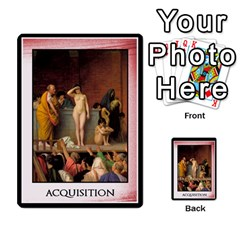 Cursus Acquisitions By Meta   Multi Purpose Cards (rectangle)   Ydjxv5oxcac3   Www Artscow Com Back 52