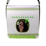 Princess Flap closure Messenger Bag2 (Large) - Flap Closure Messenger Bag (L)