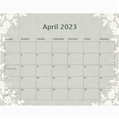 2015 Green 12 Month Wall Calendar By Lil    Wall Calendar 11  X 8 5  (12 Months)   Bgrkllvvv4j0   Www Artscow Com Apr 2015
