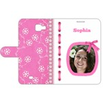 Princess Samsung Galaxy Note 1 Leather Folio Case