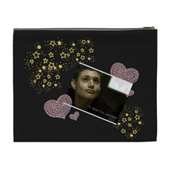 Dean 4 By Heather   Cosmetic Bag (xl)   On0q19yhjjkt   Www Artscow Com Back