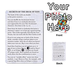 Deck Of Fate   Part 2 By Oliver Graf   Multi Purpose Cards (rectangle)   Lbgk7kgir6a1   Www Artscow Com Back 54
