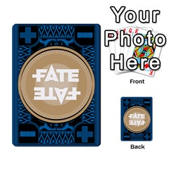 Deck Of Fate   Part 2 By Oliver Graf   Multi Purpose Cards (rectangle)   Lbgk7kgir6a1   Www Artscow Com Back 2