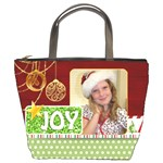 christmas bag - Bucket Bag