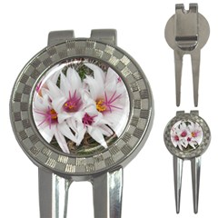 Bloom Cactus  Golf Pitchfork & Ball Marker by ADIStyle