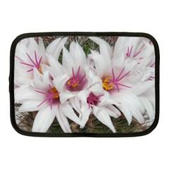 Bloom Cactus  Netbook Case (medium) by ADIStyle