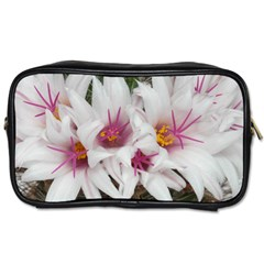 Bloom Cactus  Travel Toiletry Bag (two Sides) by ADIStyle