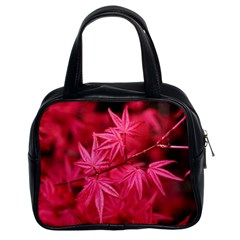 Red Autumn Classic Handbag (two Sides) by ADIStyle