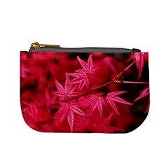 Red Autumn Coin Change Purse by ADIStyle