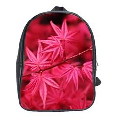 Red Autumn School Bag (xl) by ADIStyle