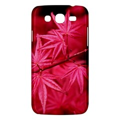 Red Autumn Samsung Galaxy Mega 5 8 I9152 Hardshell Case  by ADIStyle