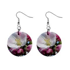 Apple Blossom  Mini Button Earrings by ADIStyle
