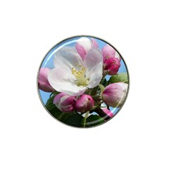 Apple Blossom  Golf Ball Marker 10 Pack (for Hat Clip) by ADIStyle