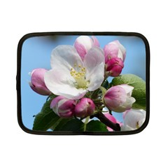 Apple Blossom  Netbook Case (small) by ADIStyle
