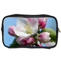 Apple Blossom  Travel Toiletry Bag (two Sides) by ADIStyle