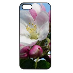 Apple Blossom  Apple Iphone 5 Seamless Case (black) by ADIStyle