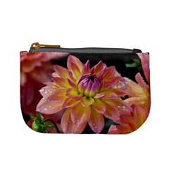 Dahlia Garden  Coin Change Purse by ADIStyle