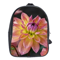 Dahlia Garden  School Bag (xl) by ADIStyle