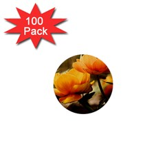 Flowers Butterfly 1  Mini Button (100 Pack) by ADIStyle