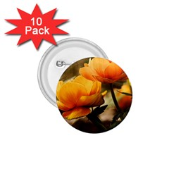 Flowers Butterfly 1 75  Button (10 Pack) by ADIStyle