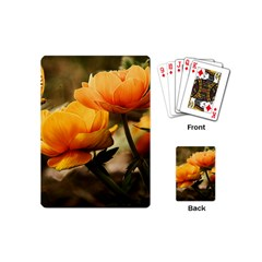 Flowers Butterfly Playing Cards (mini) by ADIStyle