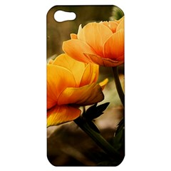 Flowers Butterfly Apple Iphone 5 Hardshell Case by ADIStyle
