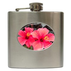 Red Hibiscus Hip Flask by ADIStyle