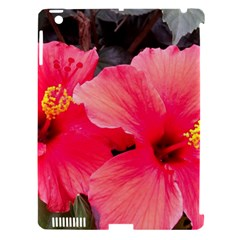 Red Hibiscus Apple Ipad 3/4 Hardshell Case (compatible With Smart Cover) by ADIStyle