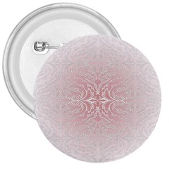 Elegant Damask 3  Button by ADIStyle