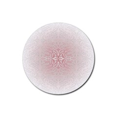 Elegant Damask Drink Coasters 4 Pack (round) by ADIStyle