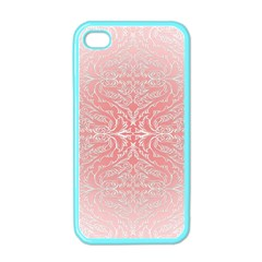 Pink Elegant Damask Apple Iphone 4 Case (color) by ADIStyle