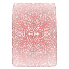 Pink Elegant Damask Removable Flap Cover (small) by ADIStyle