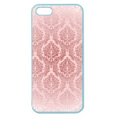Luxury Pink Damask Apple Seamless Iphone 5 Case (color) by ADIStyle