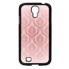 Luxury Pink Damask Samsung Galaxy S4 I9500 (black) by ADIStyle