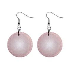 Pink Damask Mini Button Earrings by ADIStyle