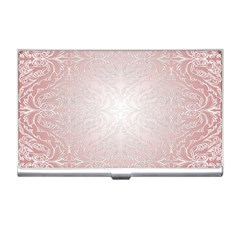 Pink Damask Business Card Holder by ADIStyle