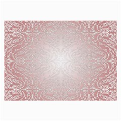 Pink Damask Glasses Cloth (large) by ADIStyle