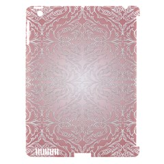 Pink Damask Apple Ipad 3/4 Hardshell Case (compatible With Smart Cover) by ADIStyle