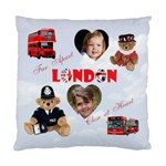 London - Standard Cushion Case (One Side)