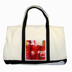 Decisions4 Two Toned Tote Bag by dawnsebaughinc