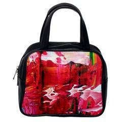 Decisions4 Classic Handbag (one Side) by dawnsebaughinc