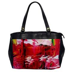 Decisions4 Oversize Office Handbag (one Side) by dawnsebaughinc