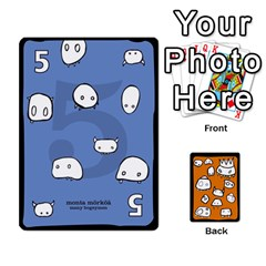 Monsters Deck B By Jim Chaney   Playing Cards 54 Designs   6jxml0p23oo6   Www Artscow Com Front - Spade7