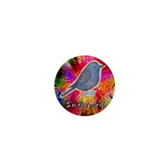 Birds The Word 1  Mini Button Magnet by Contest1701039