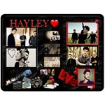 hayley - Fleece Blanket (Large)